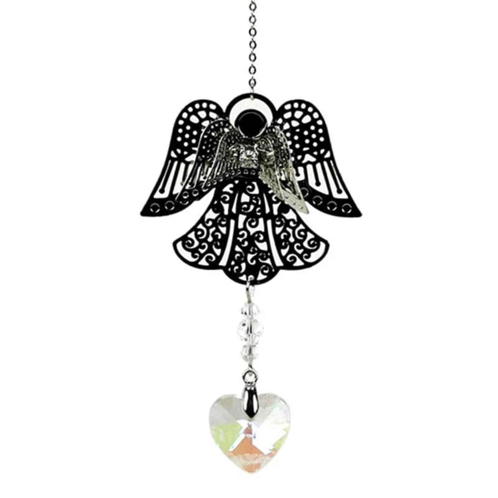 Lichtvanger engel in kadozakje - zorgt voor mooie energie in huis