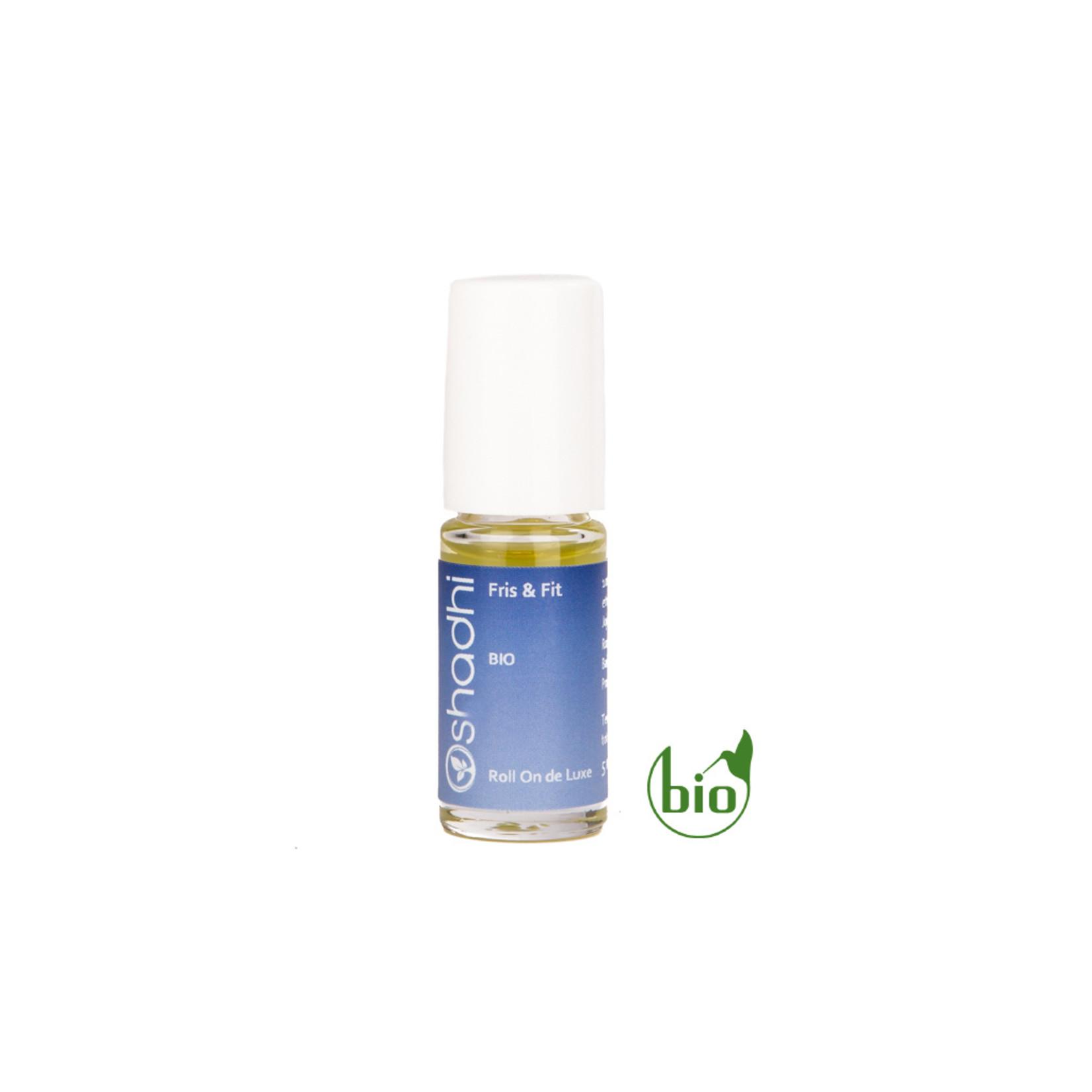 Oshadhi Fris & fit aromaroller Oshadhi - verzacht hoofdpijn en dipjes doorheen de dag - 5ml