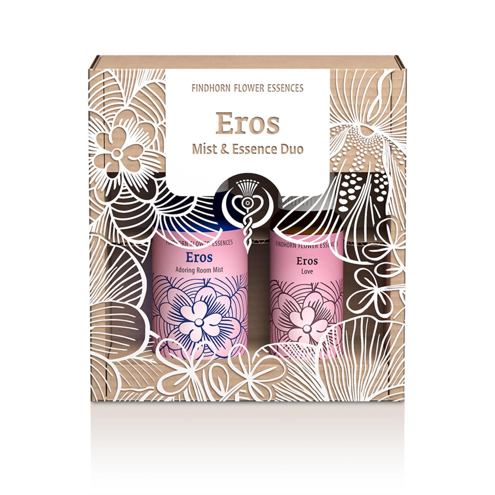 Findhorn Essences Feeling Love bloesemspray en aromaspray - duopakket Findhorn Essences