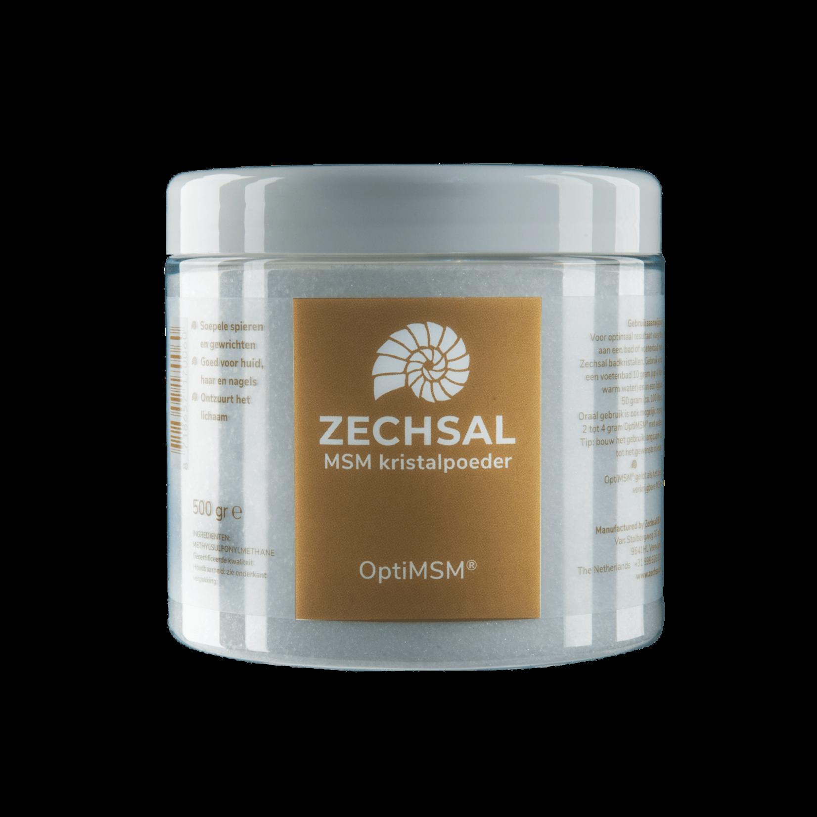 Zechsal Opti MSM - bron van organisch zwavel - remt ontstekingen in het lichaam - 500g