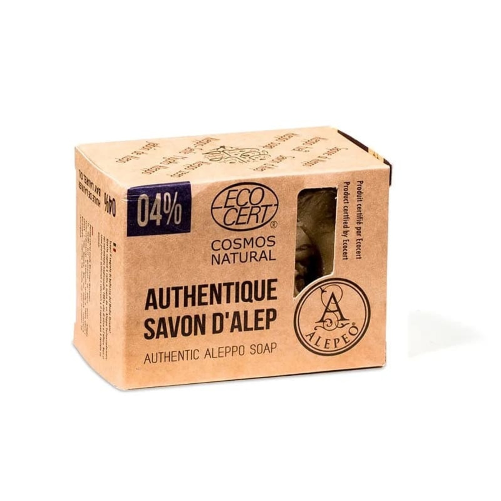 Alepeo Oléanat Aleppozeep 4% laurier – 200 g