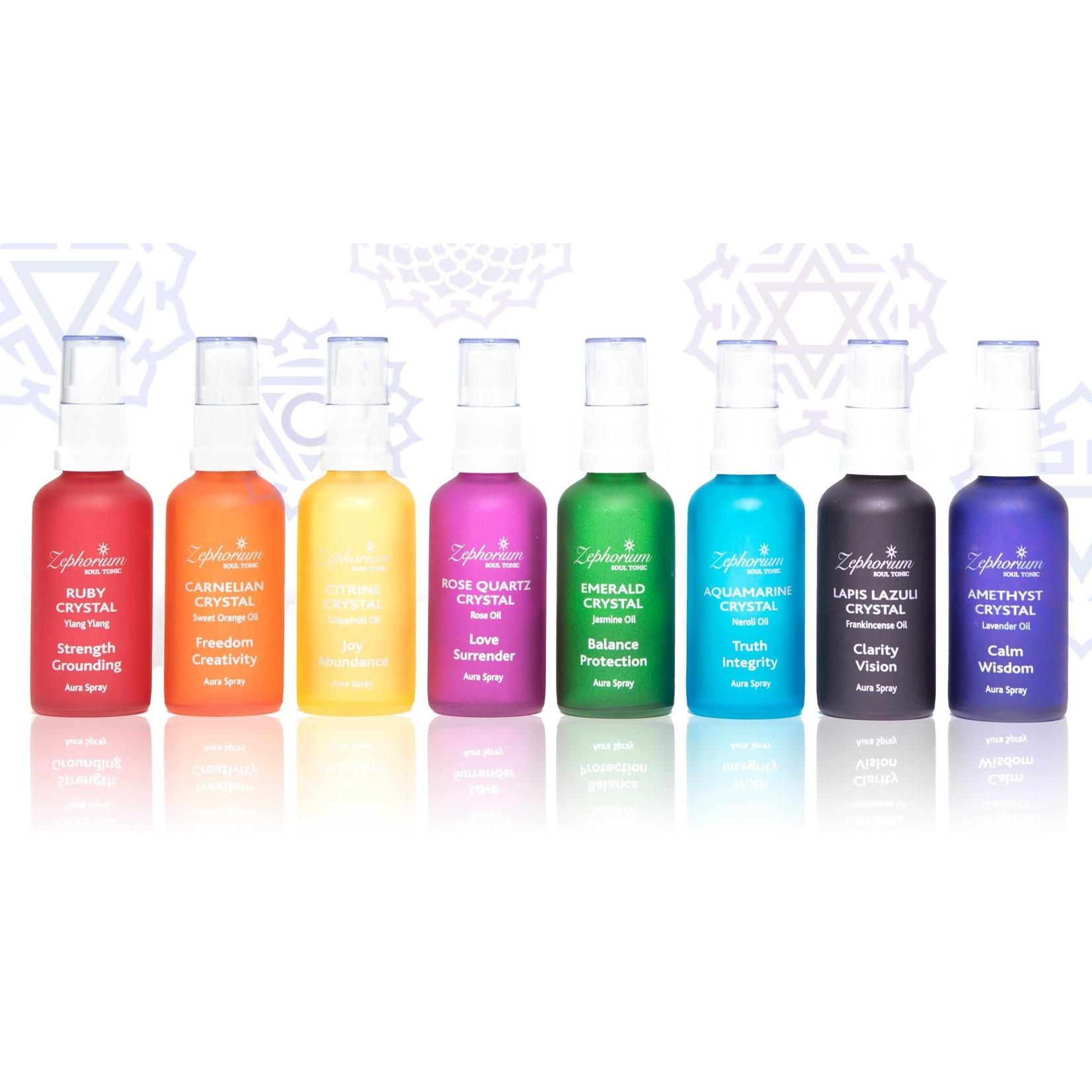 Zephorium Set van 8 aurasprays - voor elke chakra - Zephorium