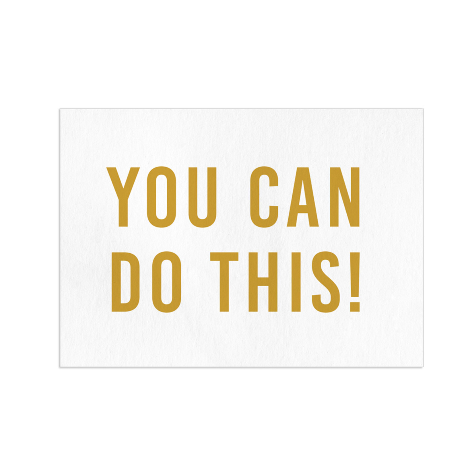 Wenskaart You can do this! - Letters and Lines