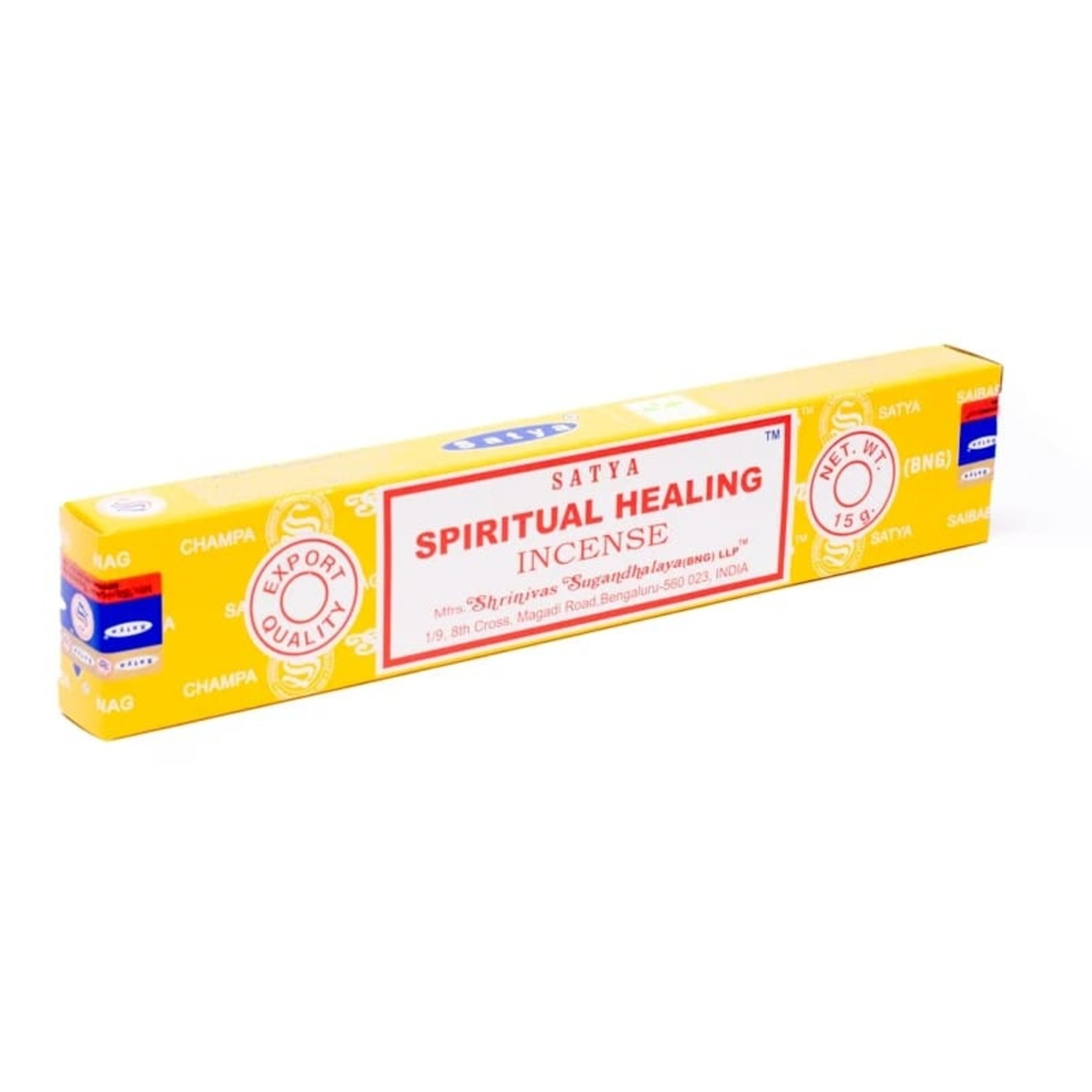 Satya wierook Spiritual Healing - helend