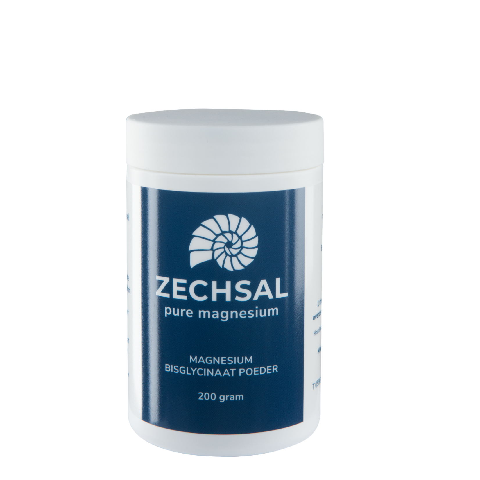 Zechsal Oraal magnesium Zechsal - magnesiumbisglycinaat poeder 200g