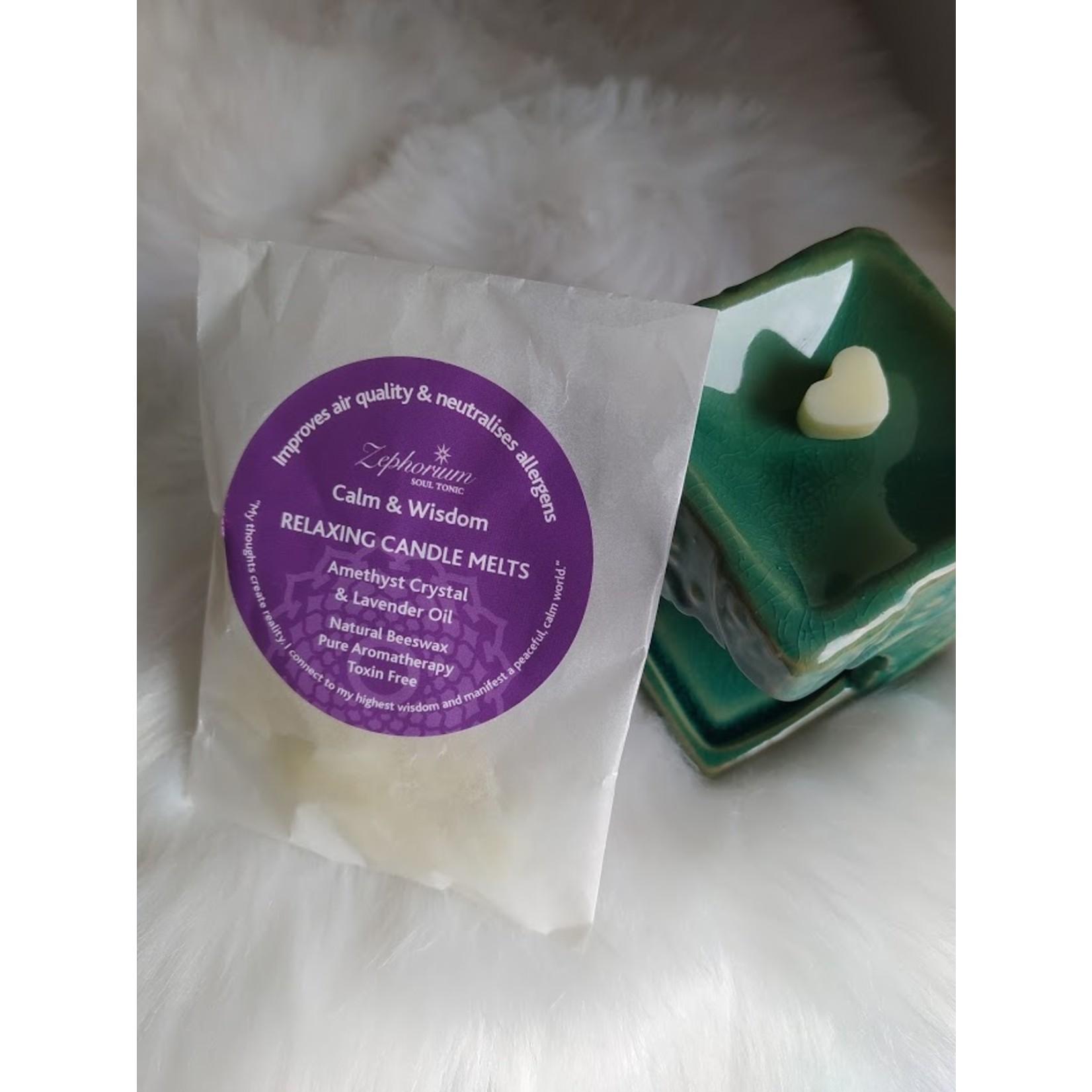 Zephorium Relaxing Amethyst wax melts - genieten van een heerlijke geur