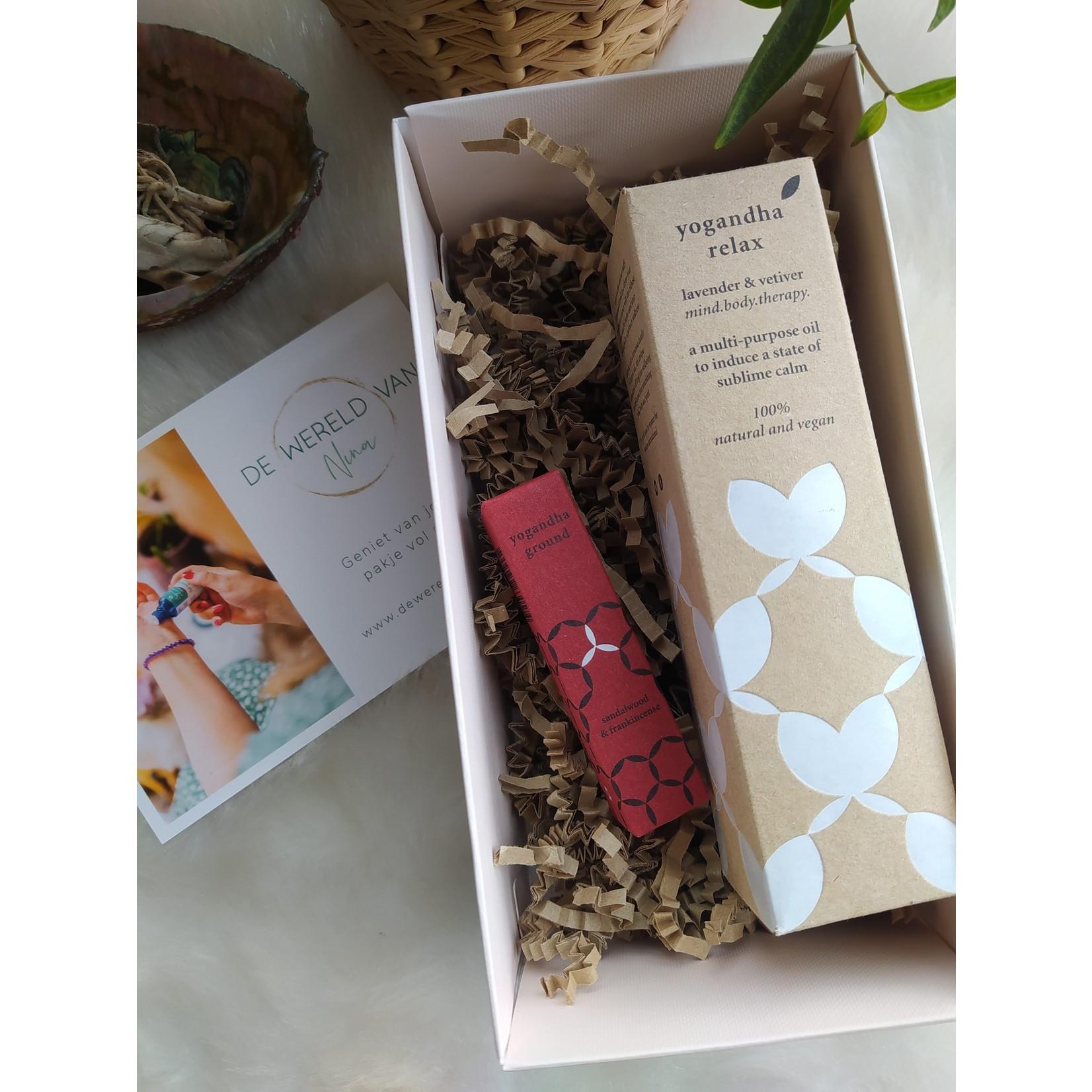 Gift box - Yogandha ground & relax