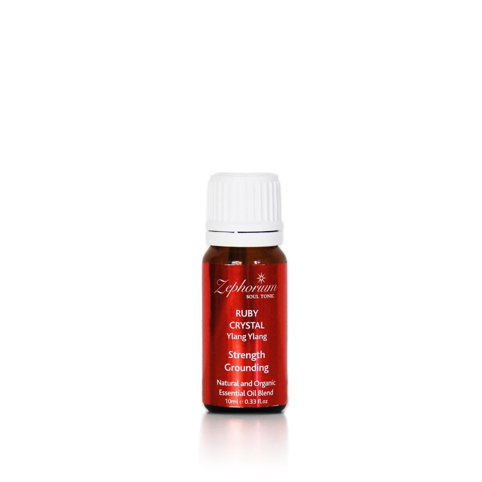 Ruby essential oil blend - wortelchakra