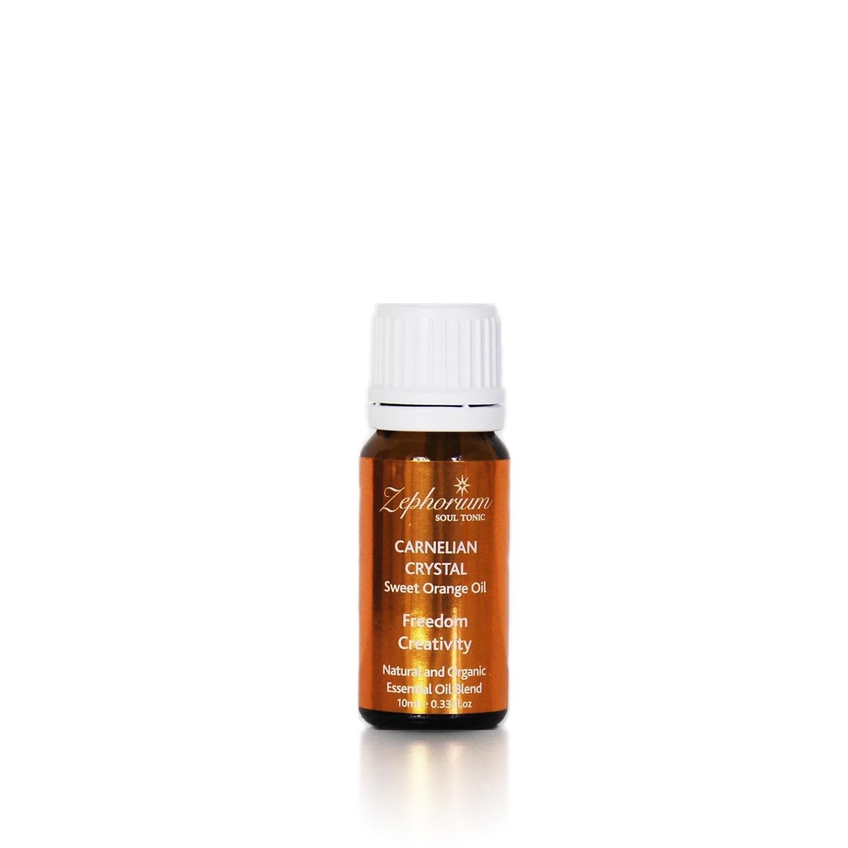 Zephorium Carnelian essential oil blend - sacraal chakra