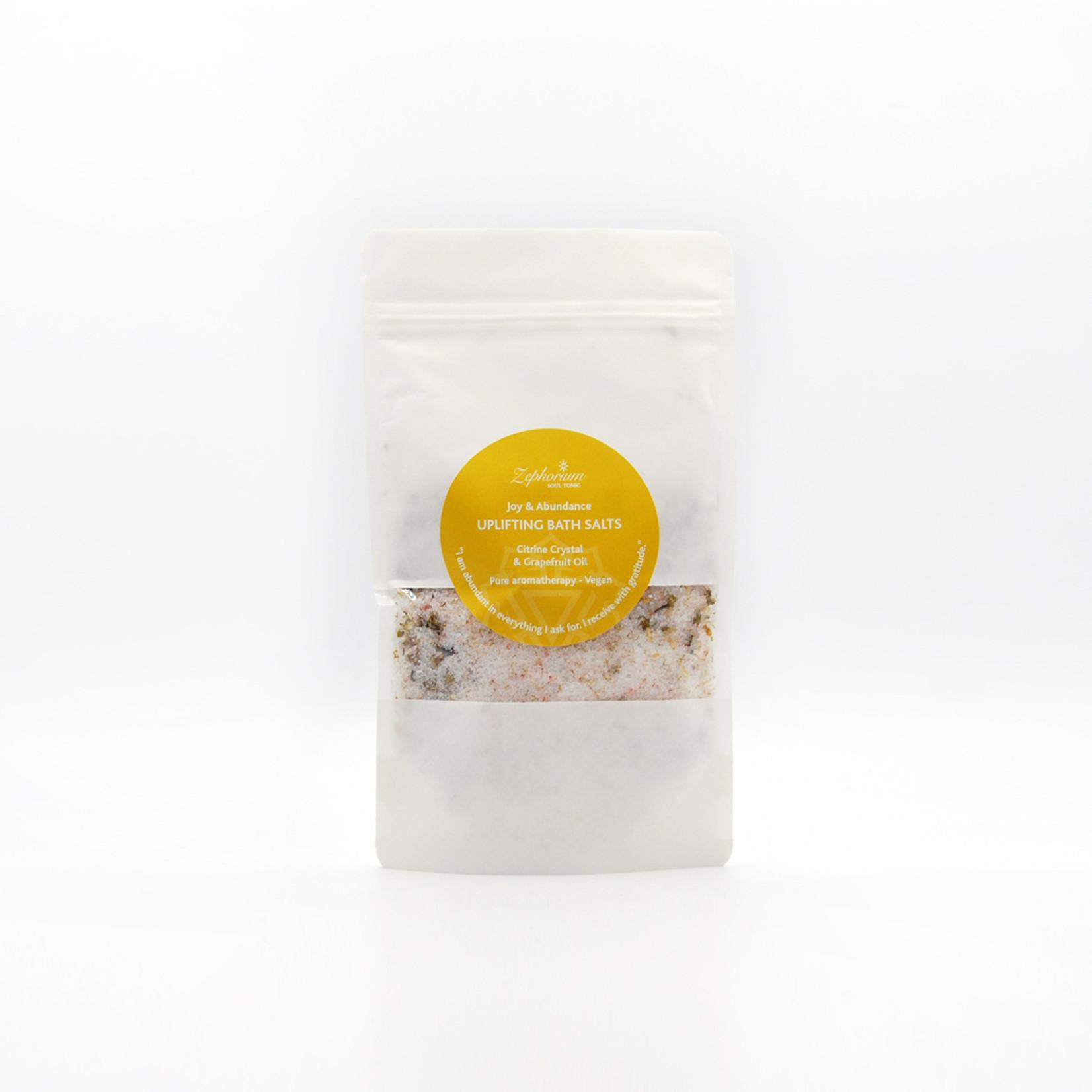 Zephorium Uplifting bath salts - citrine