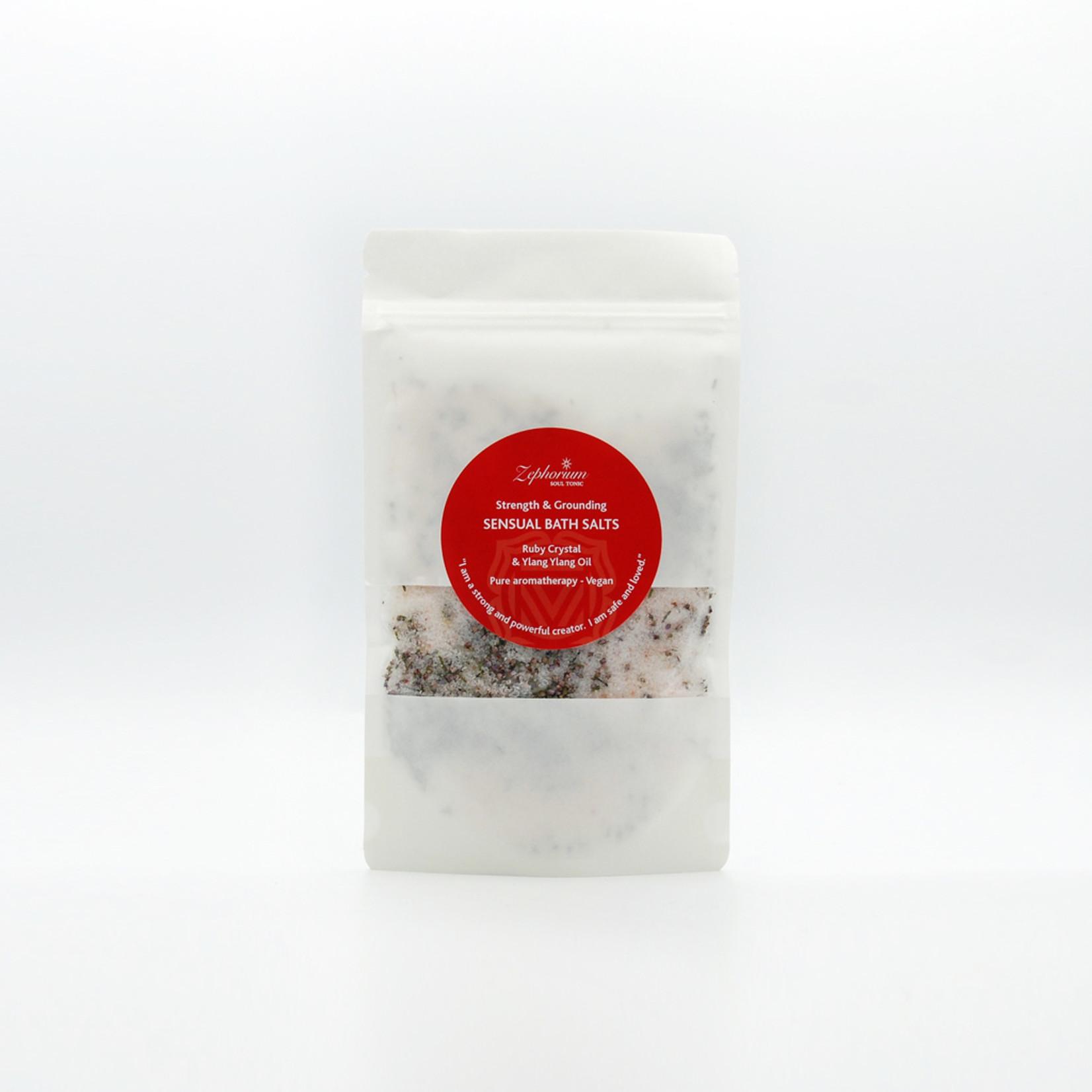 Zephorium Sensual bath salts - ruby