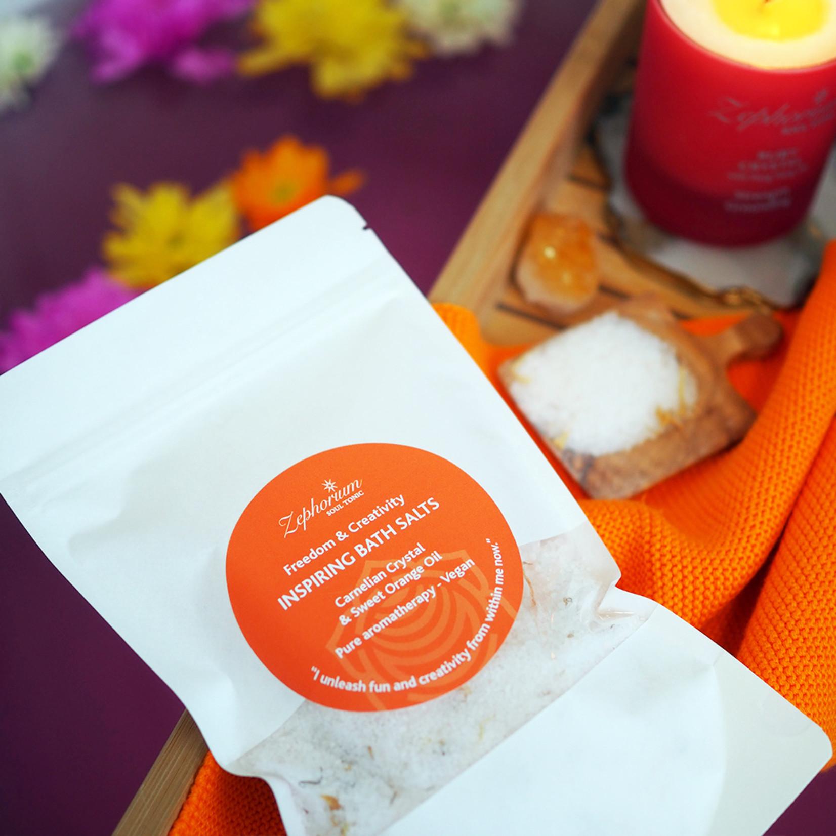 Zephorium Inspiring bath salts - carnelian