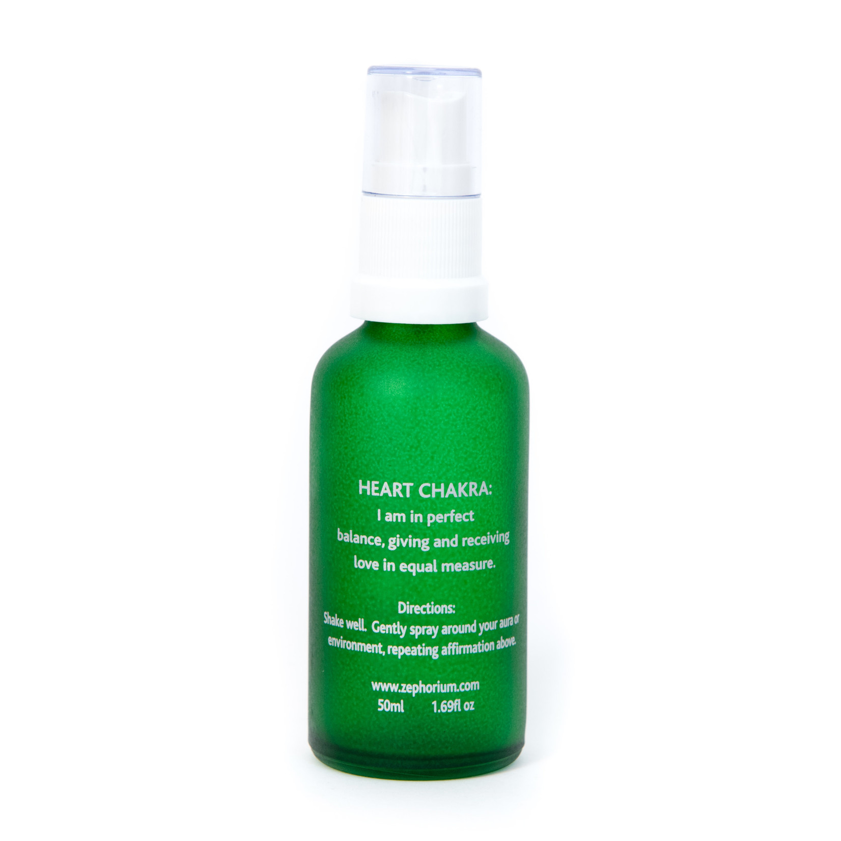 Zephorium Emerald auraspray Zephorium - bescherm je hartchakra