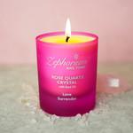 Zephorium Rose quartz aromatherapiekaars Zephorium - hartchakra