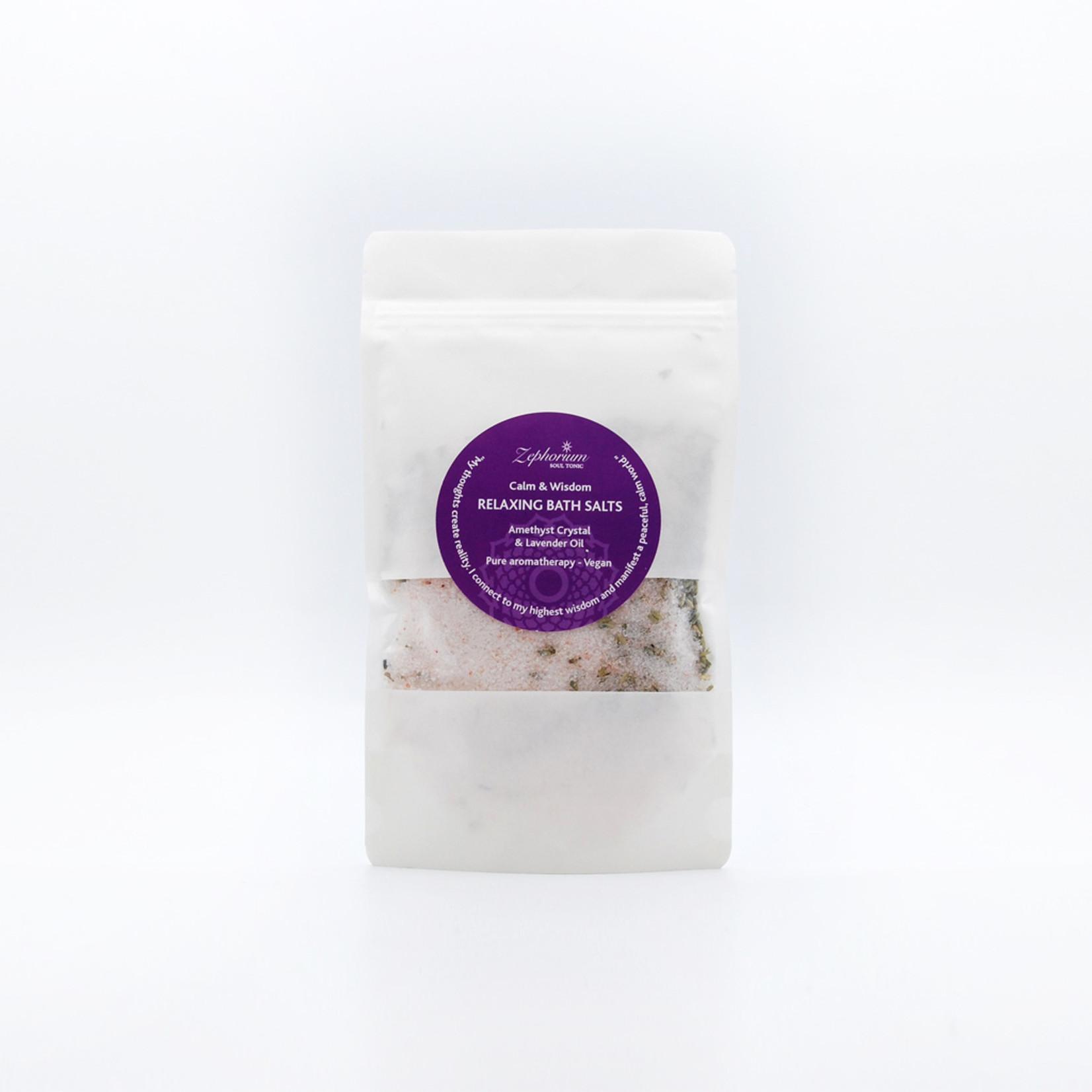 Zephorium Badzout met magnesium, lavendel en amethyst - Zephorium