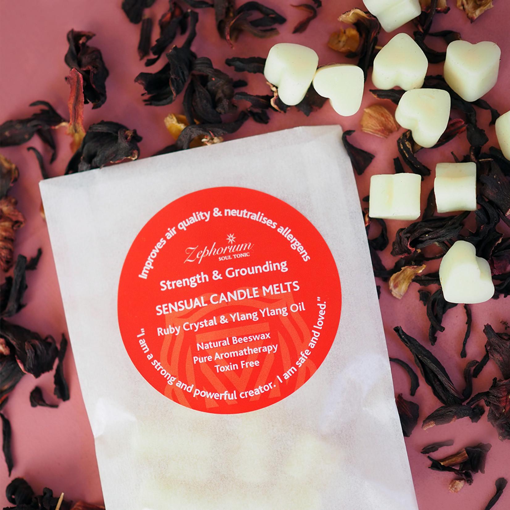 Zephorium Sensual Ruby wax melts - genieten van een heerlijke geur