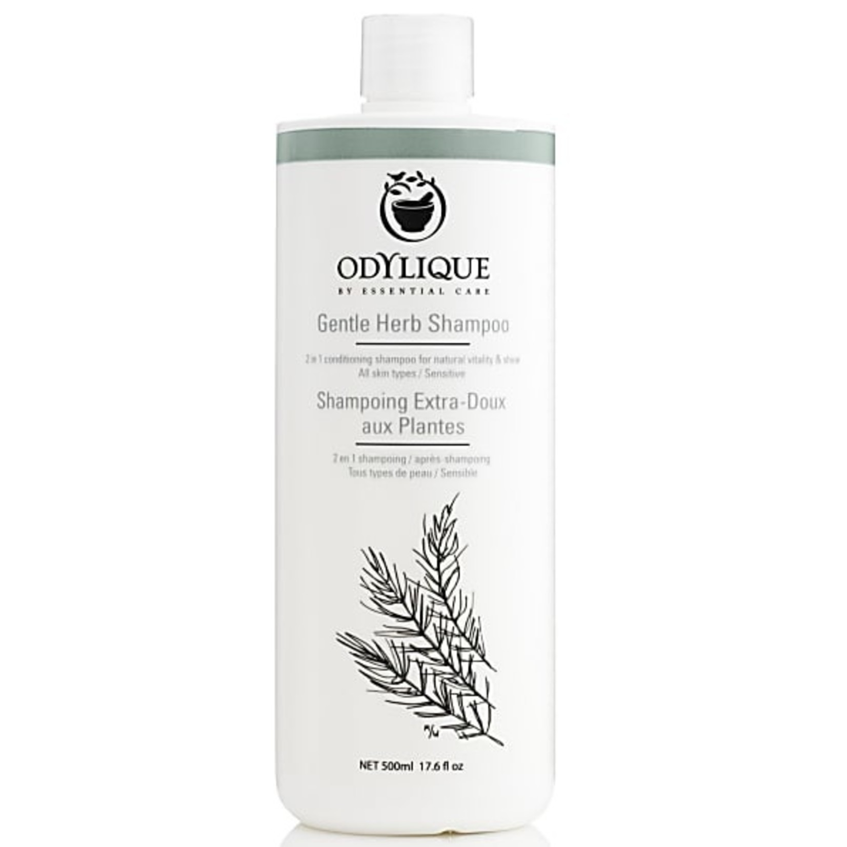 Odylique Gentle herb shampoo familieformaat 500ml Odylique