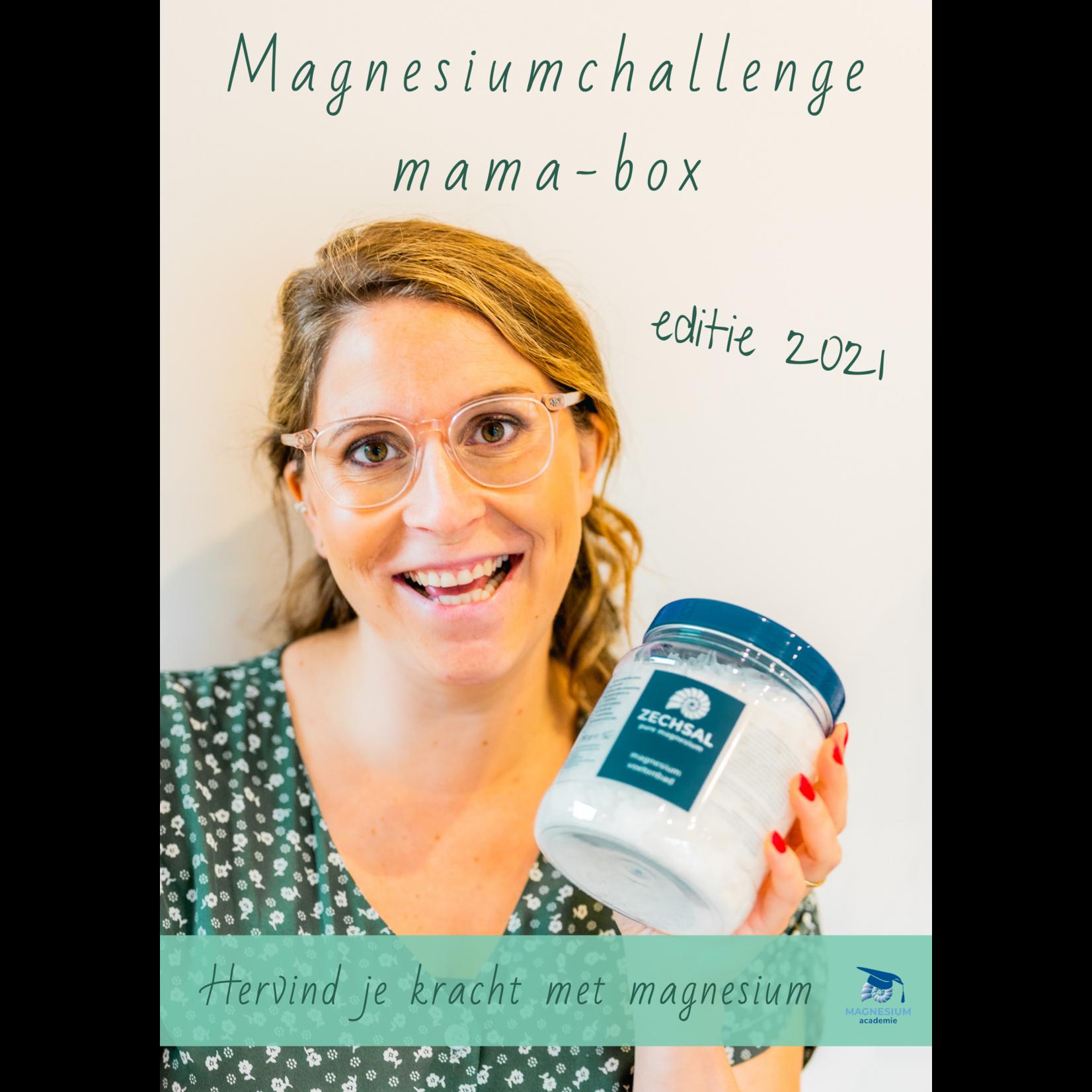 Magnesiumchallenge voor zwangere & voedende mama's - aangepast programma