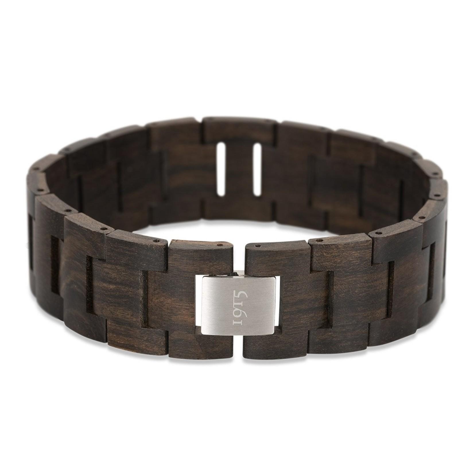 1915 watches 1915 bracelet Sandel   Houten schakel armband van 1915 watches   Sandel hout