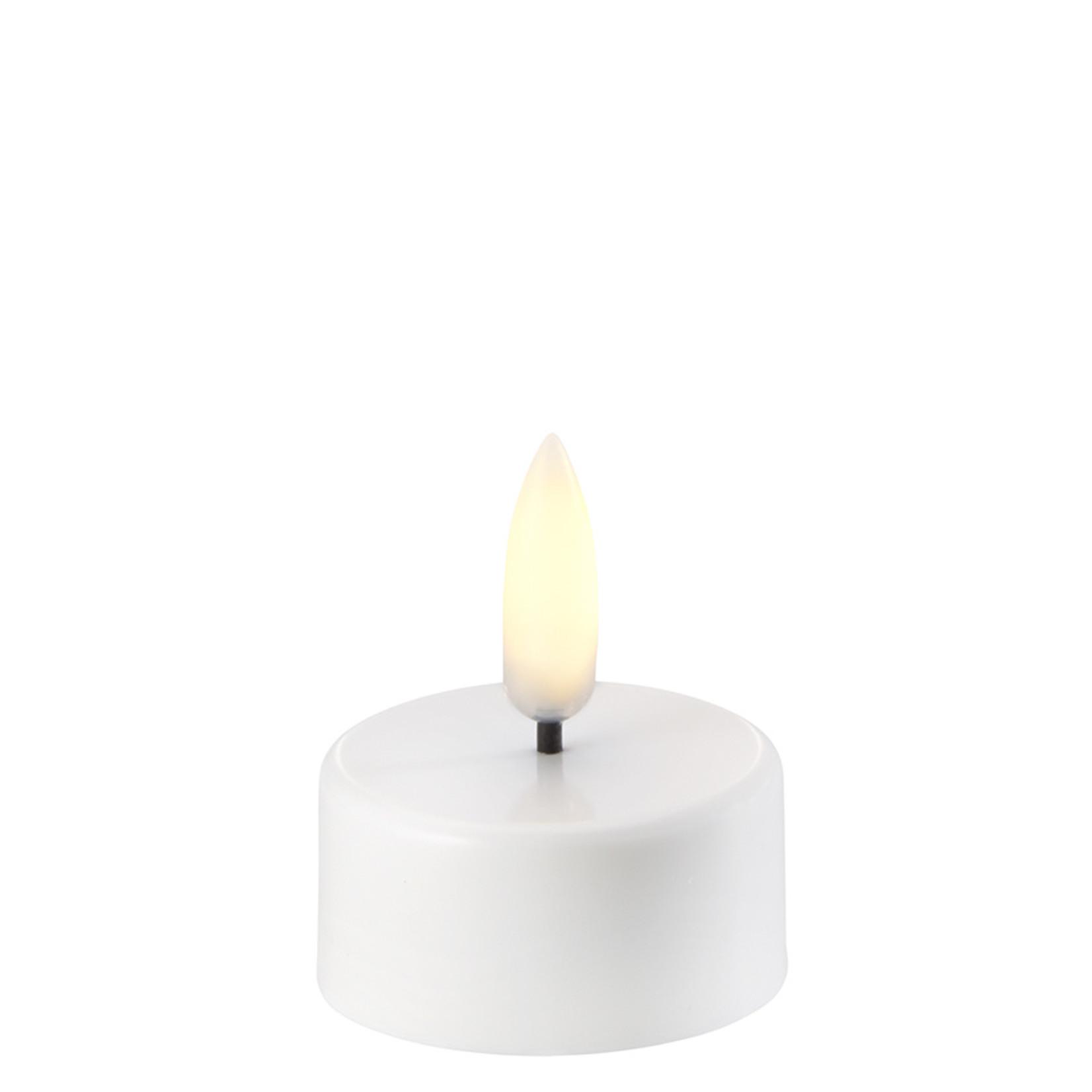 UYUNI LIGHTING LED TEA-LIGHT- NORDIC WHITE - Ø3,8 x 2 CM