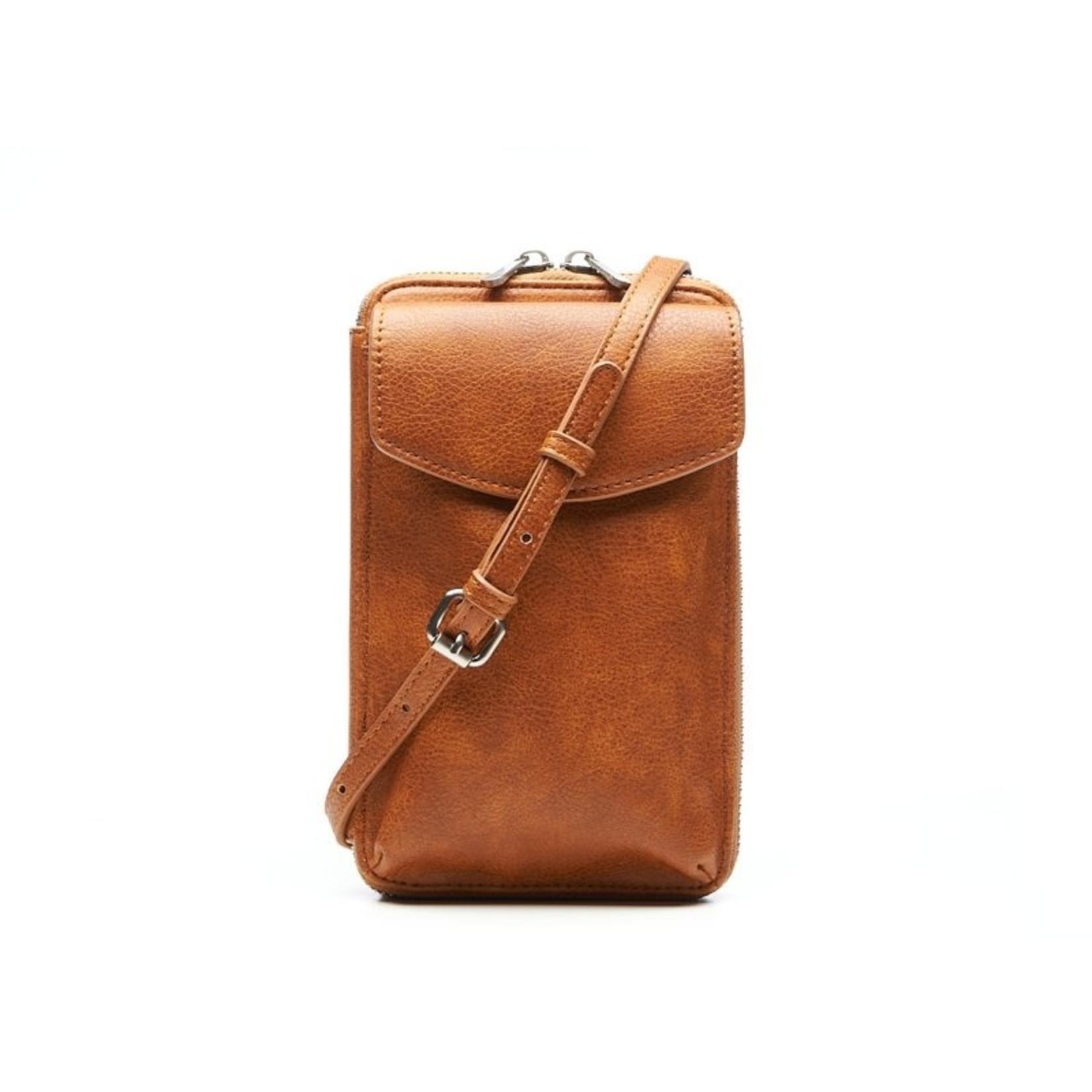 Brasca Brasca Phone Bag Camel