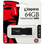 Kingston DataTraveler 100 G3 - USB-stick - 64 GB