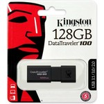 Kingston DataTraveler 100 G3 - USB-stick - 128 GB