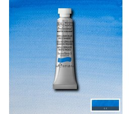 Winsor & Newton aquarelverf tube 5ml s3 cerulean blue red shade 140