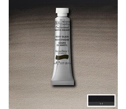 Winsor & Newton aquarelverf tube 5ml s1 ivory black 331