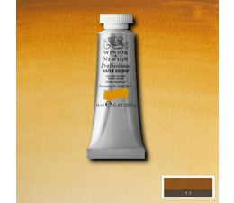 Winsor & Newton aquarelverf tube 14ml s1 yellow ochre 744