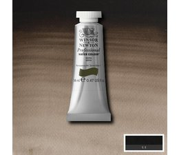 Winsor & Newton aquarelverf tube 14ml s1 sepia 609