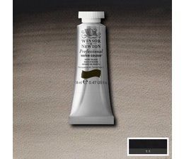 Winsor & Newton aquarelverf tube 14ml s1 ivory black 331