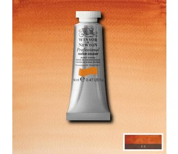 Winsor & Newton aquarelverf tube 14ml s1 burnt sienna 074