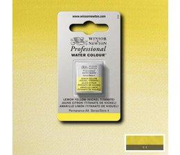 Winsor & Newton aquarelverf 1/2napje s4 lemon yellow hue nickeltita 347