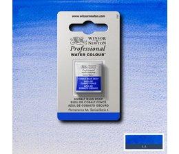 Winsor & Newton aquarelverf 1/2napje s4 cobalt blue deep 180