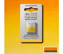 Winsor & Newton aquarelverf 1/2napje s4 cadmium yellow deep 111