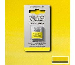 Winsor & Newton aquarelverf 1/2napje s4 cadmium lemon 086