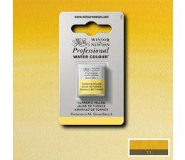 Winsor & Newton aquarelverf 1/2napje s3 turner's yellow 649