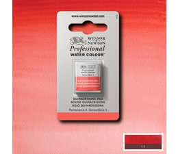 Winsor & Newton aquarelverf 1/2napje s3 quinacridone red 548