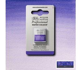 Winsor & Newton aquarelverf 1/2napje s2 ultramarine violet 672