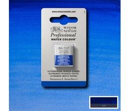 Winsor & Newton aquarelverf 1/2napje s2 ultramarine green shade 667