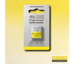 Winsor & Newton aquarelverf 1/2napje s2 lemon yellow deep 348