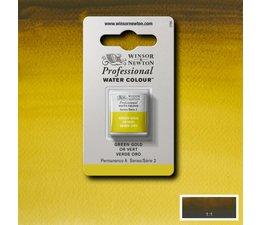 Winsor & Newton aquarelverf 1/2napje s2 green gold 294