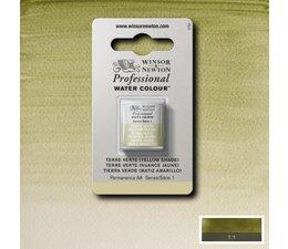 Winsor & Newton aquarelverf 1/2napje s1 terre verte yellow shade 638