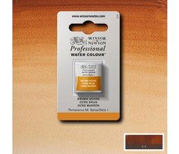 Winsor & Newton aquarelverf 1/2napje s1 brown ochre 059