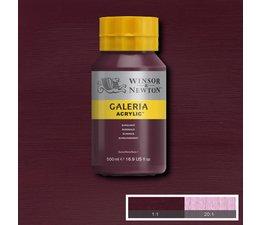 Winsor & Newton Galeria acrylverf 500ml 075 burgundy