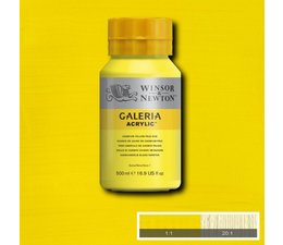 Winsor & Newton Galeria acrylverf 500ml 114 cadmium yellow pale