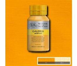 Winsor & Newton Galeria acrylverf 500ml 115 cadmium yellow deep