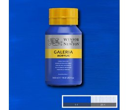 Winsor & Newton Galeria acrylverf 500ml 179 cobalt blue hue