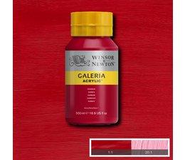Winsor & Newton Galeria acrylverf 500ml 203 crimson